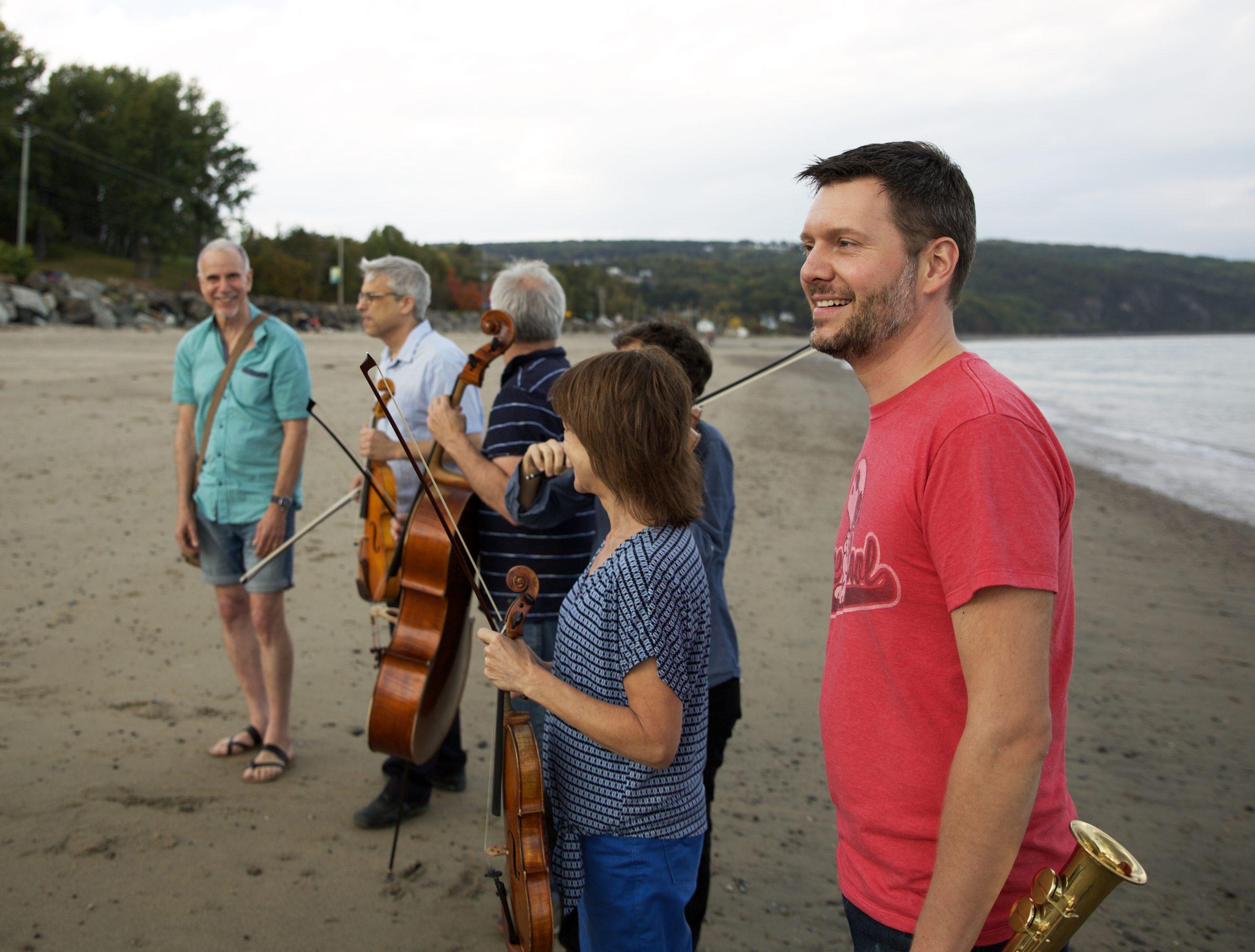 Philippe Côté, Marc Copland et le Quatuor Saguenay @ L'OFF Festival de Jazz de Montréal 2020